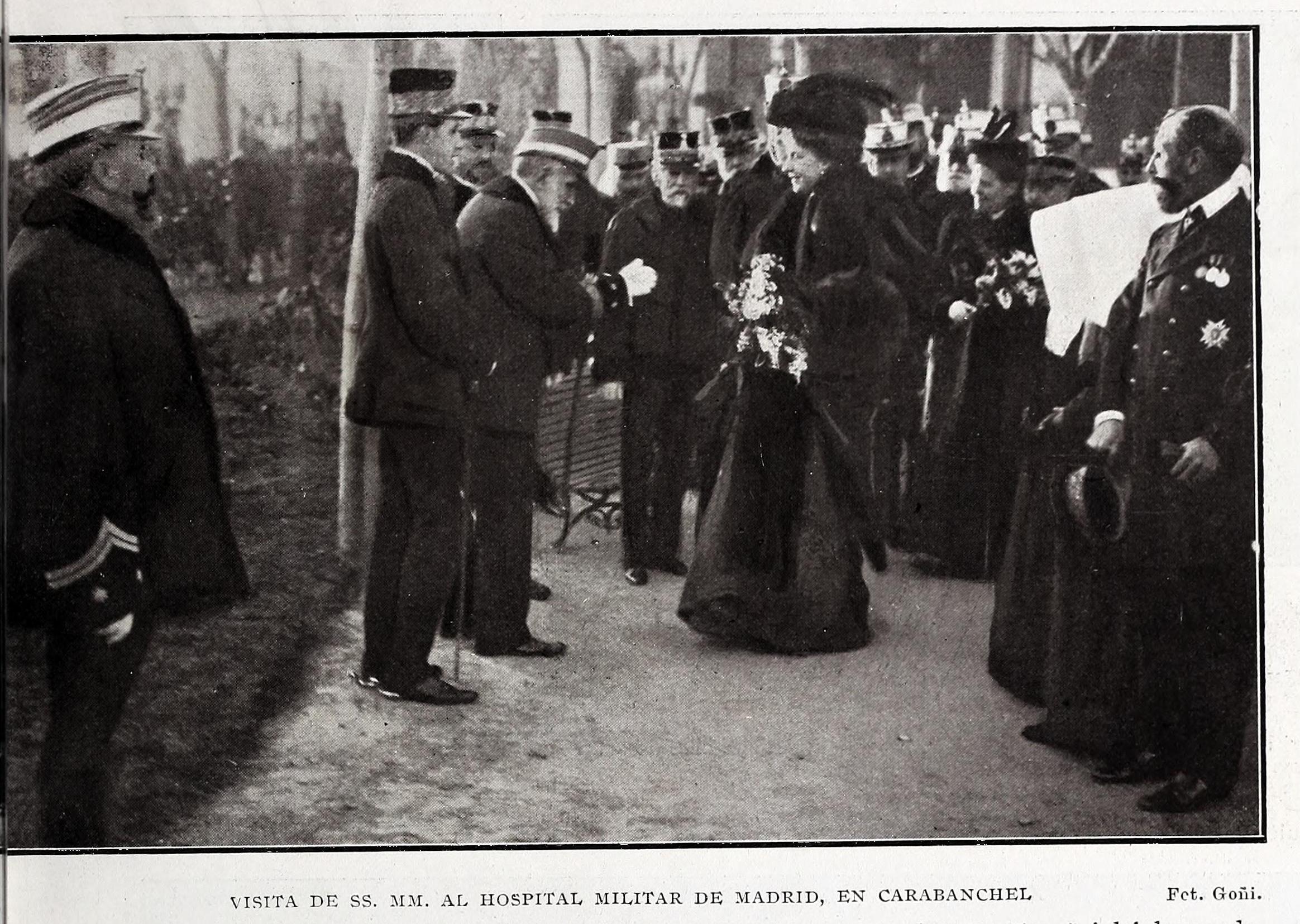 File:1907-01-12, Blanco y Negro, Visita de sus majestades al ...