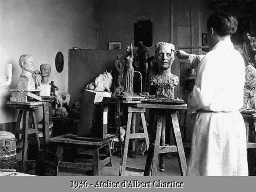 Sculpteur Peintre Et Poete Francais albert chartier (sculpteur-peintre) — wikipédia