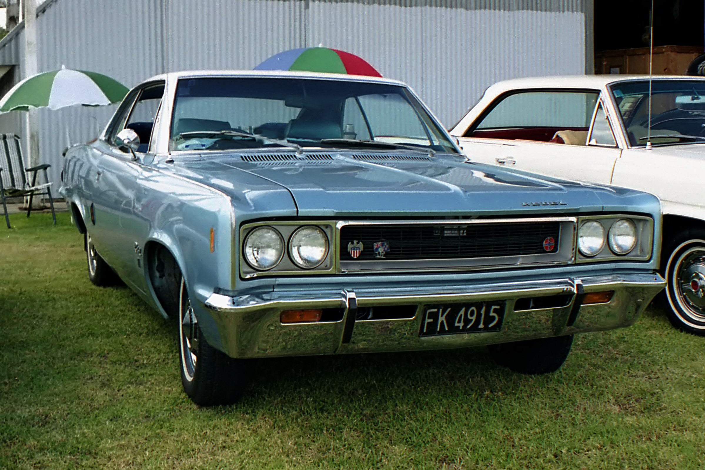 Amc rebel wikipedia 1968 rambler rebel 770 hardtop assembled in new zealand with right hand drive sciox Images
