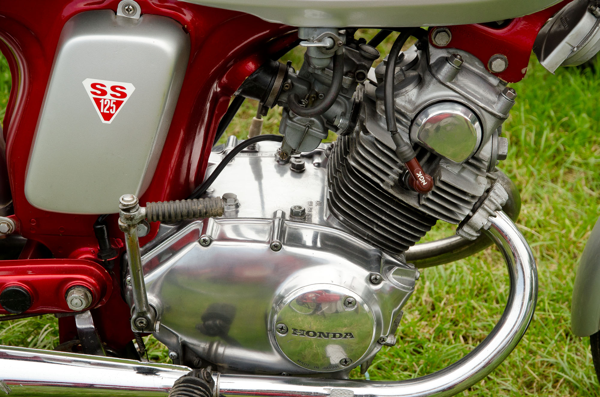 File 1969 Honda Ss125 Engine Jpg Wikimedia Commons