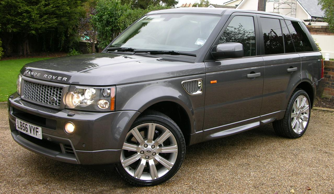 Range Rover Car >> File:2006 Range Rover Sport HST - Flickr - The Car Spy (5).jpg - Wikimedia Commons