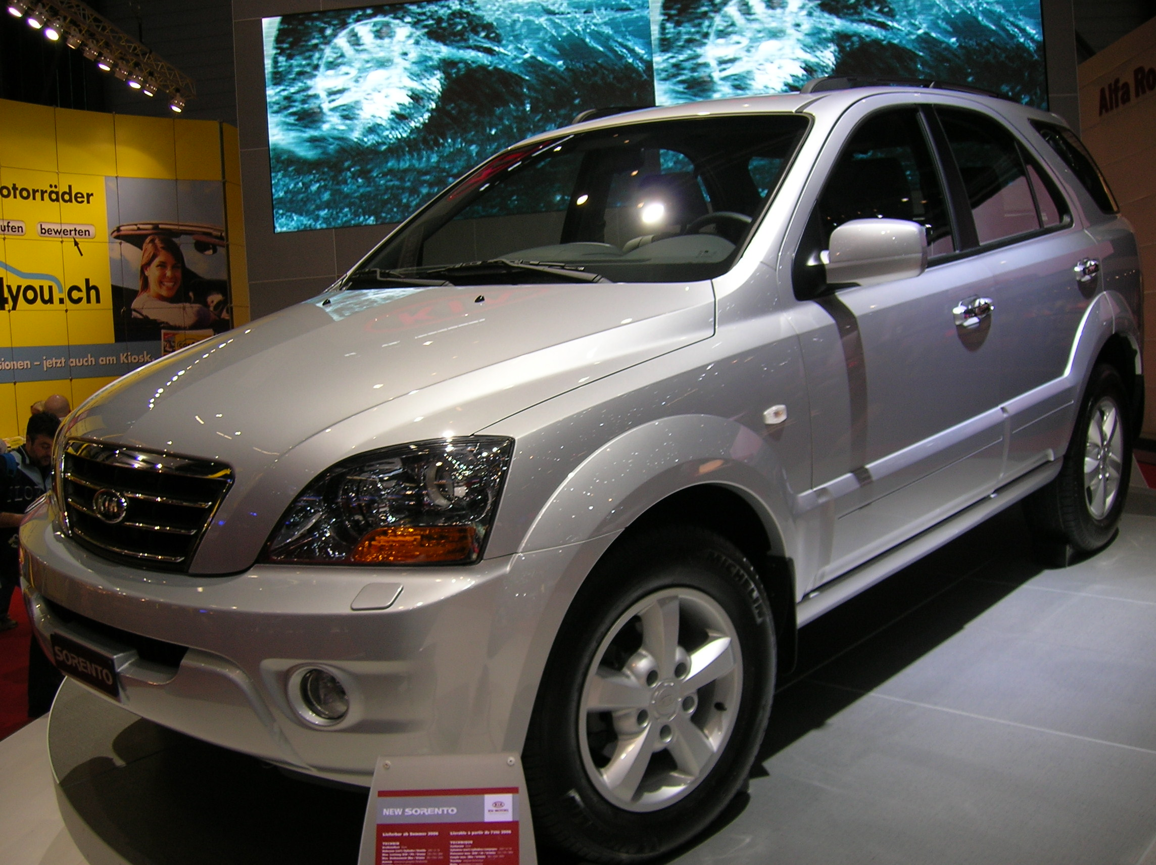 Kia sorento wikipedia autos post for Kia motor finance physical payoff address