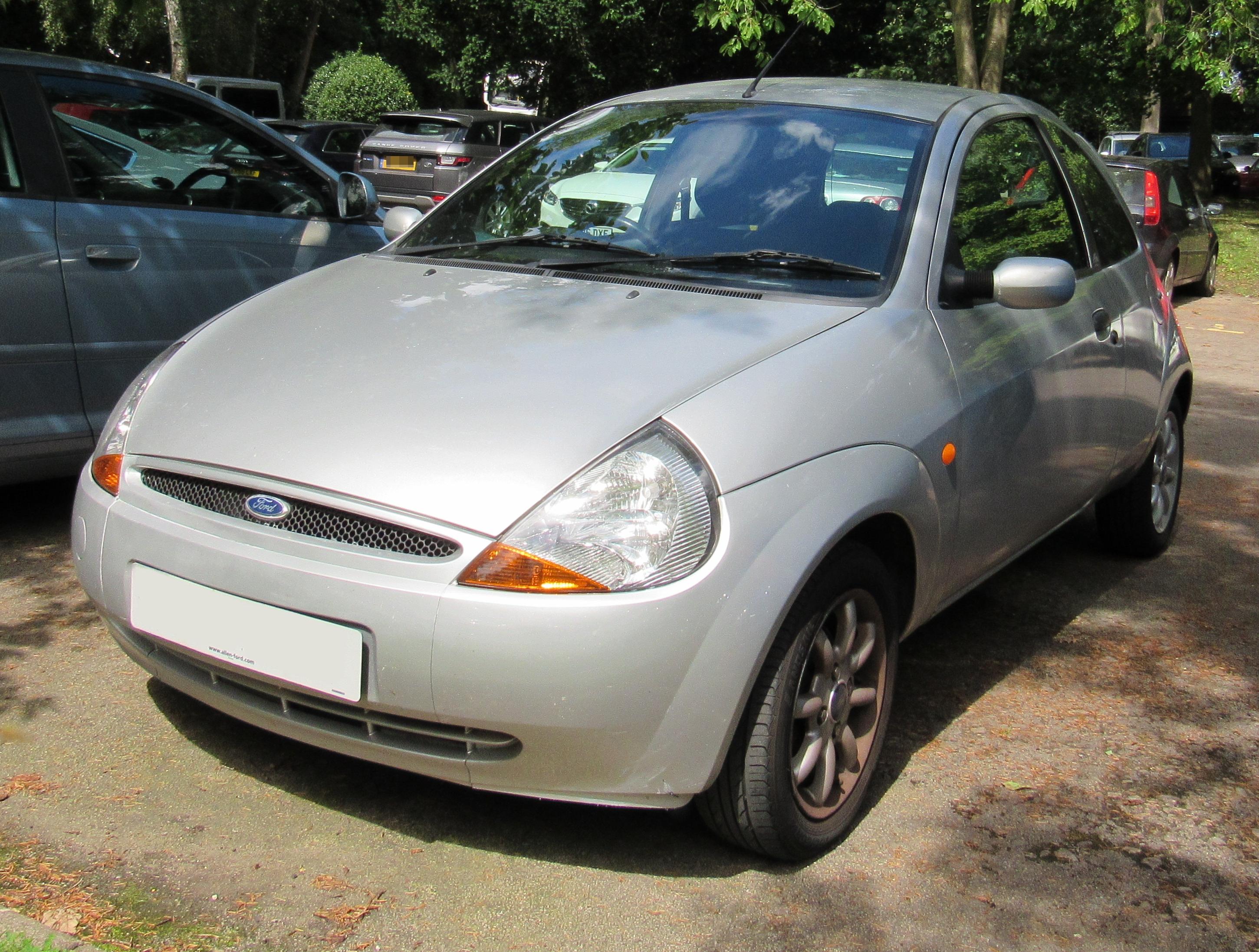 File Ford Ka Zetec   Front Jpg