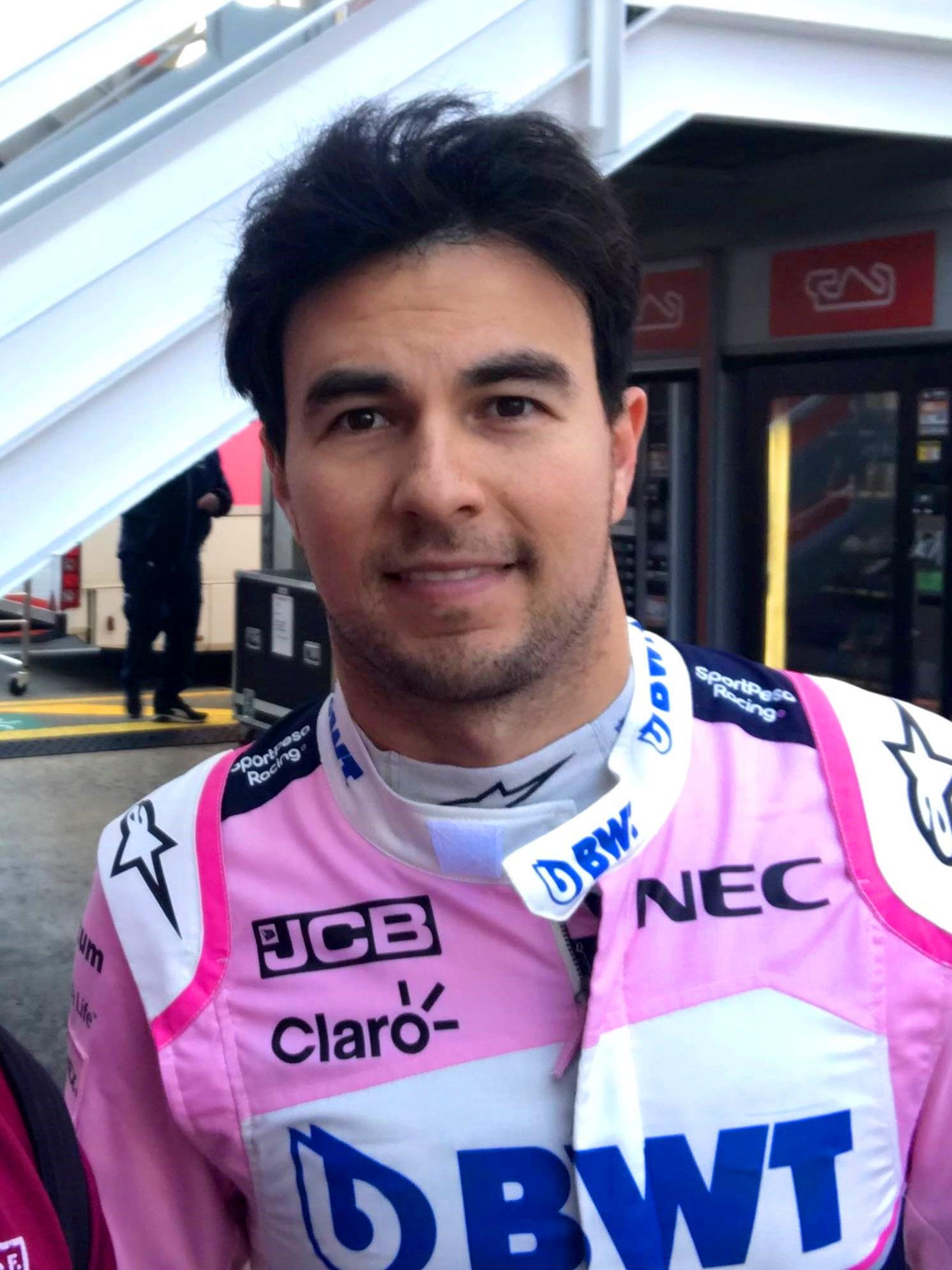 Sergio Pérez - Wikipedia