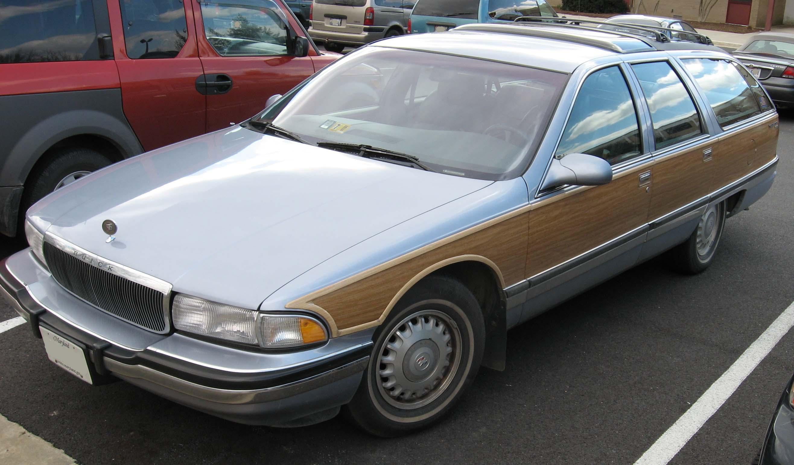 1991 Buick Roadmaster Estate Wagon Car Interior Design