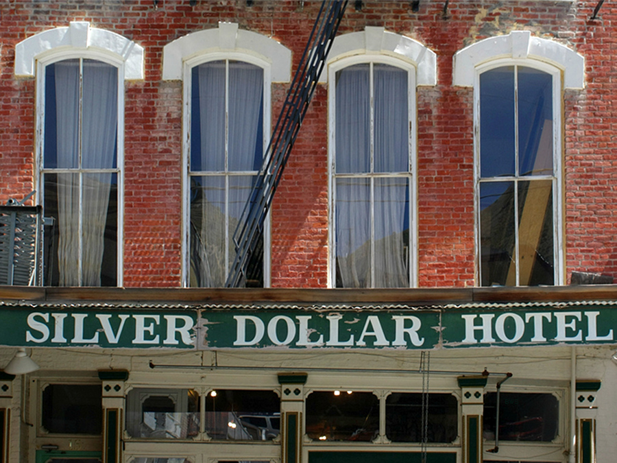file a351 virginia city nevada usa silver dollar hotel. Black Bedroom Furniture Sets. Home Design Ideas