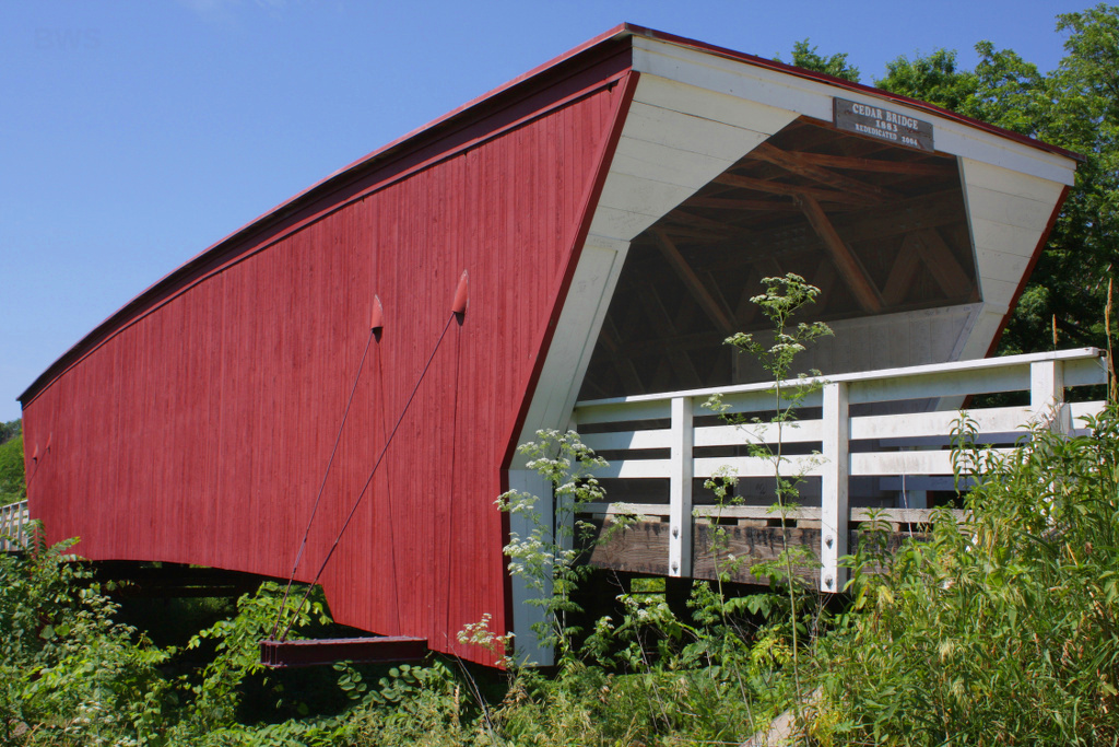 Covered Wooden Bridges A447%2C_Cedar_Covered_Bridge%2C_Madison_County%2C_Iowa%2C_USA%2C_2016