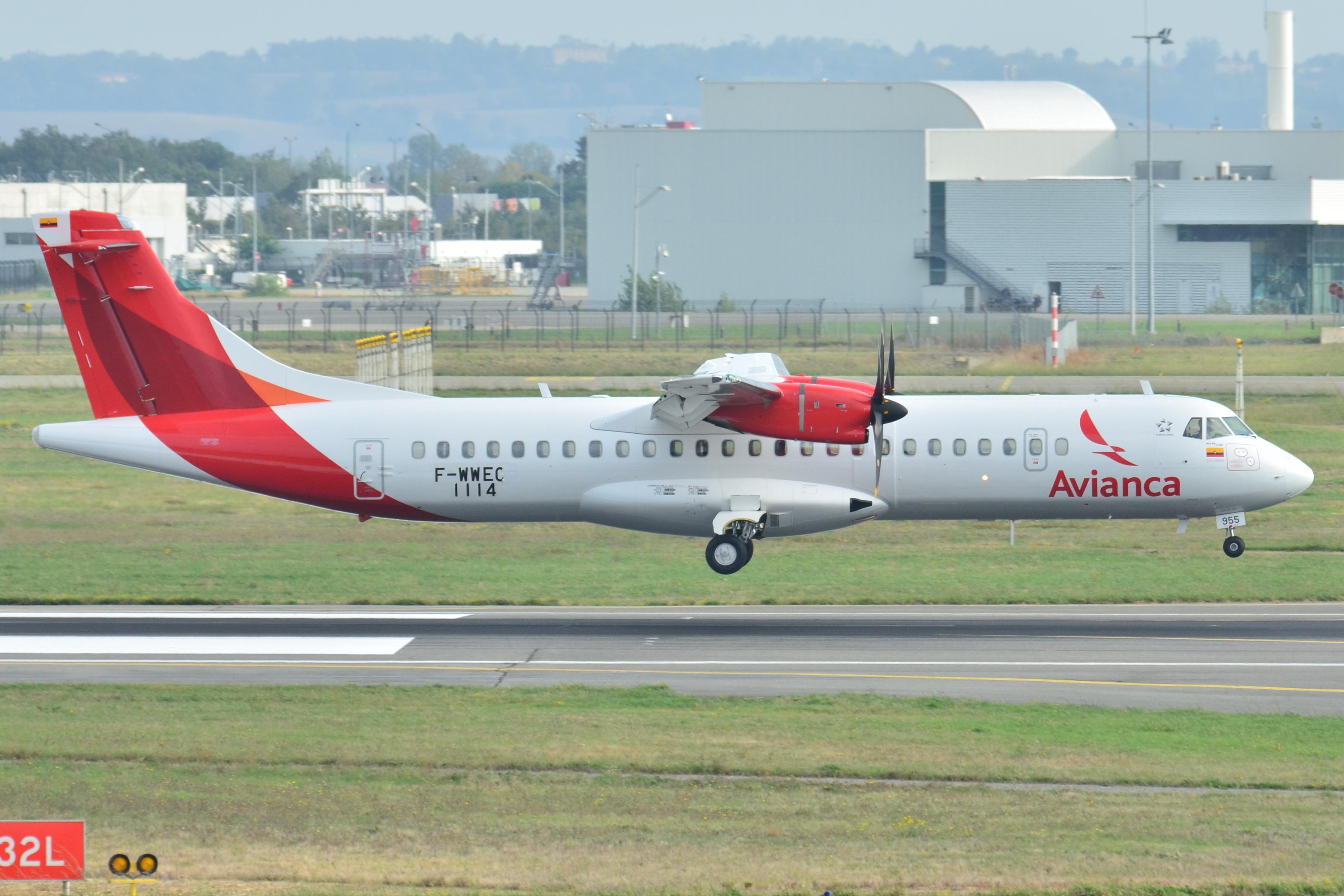 Resultado de imagen para avianca ATR 72 wiki