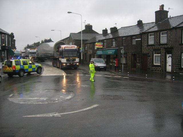 A Rainy Day in Edenfield - geograph.org.uk - 1007289