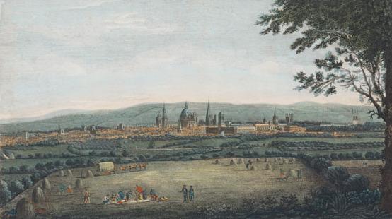 A prospect of oxford by BOYDELL, JOHN - GMII