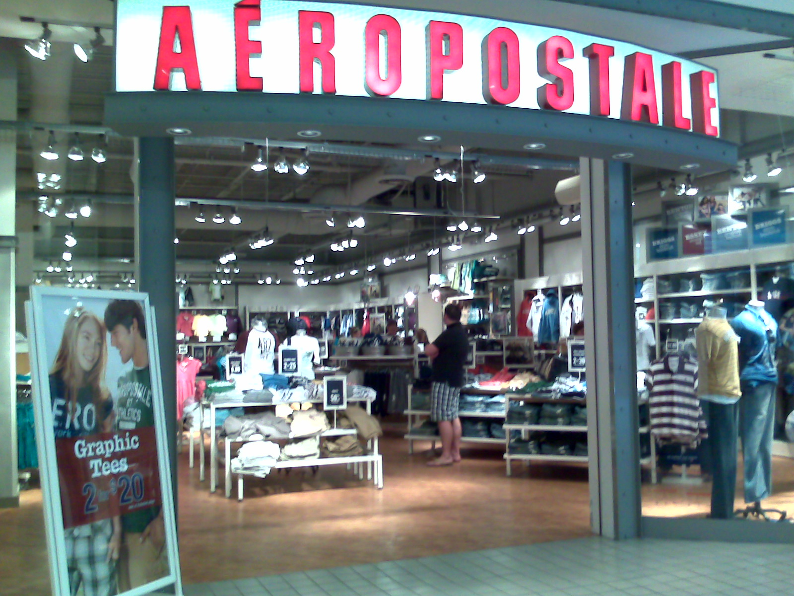 Aeropostale in East Palo Alto, CA. About Search Results. About Search Results. YP - The Real Yellow Pages SM - helps you find the right local businesses to meet your specific needs. Search results are sorted by a combination of factors to give you a set of choices in response to your search criteria. These factors are similar to those you might.