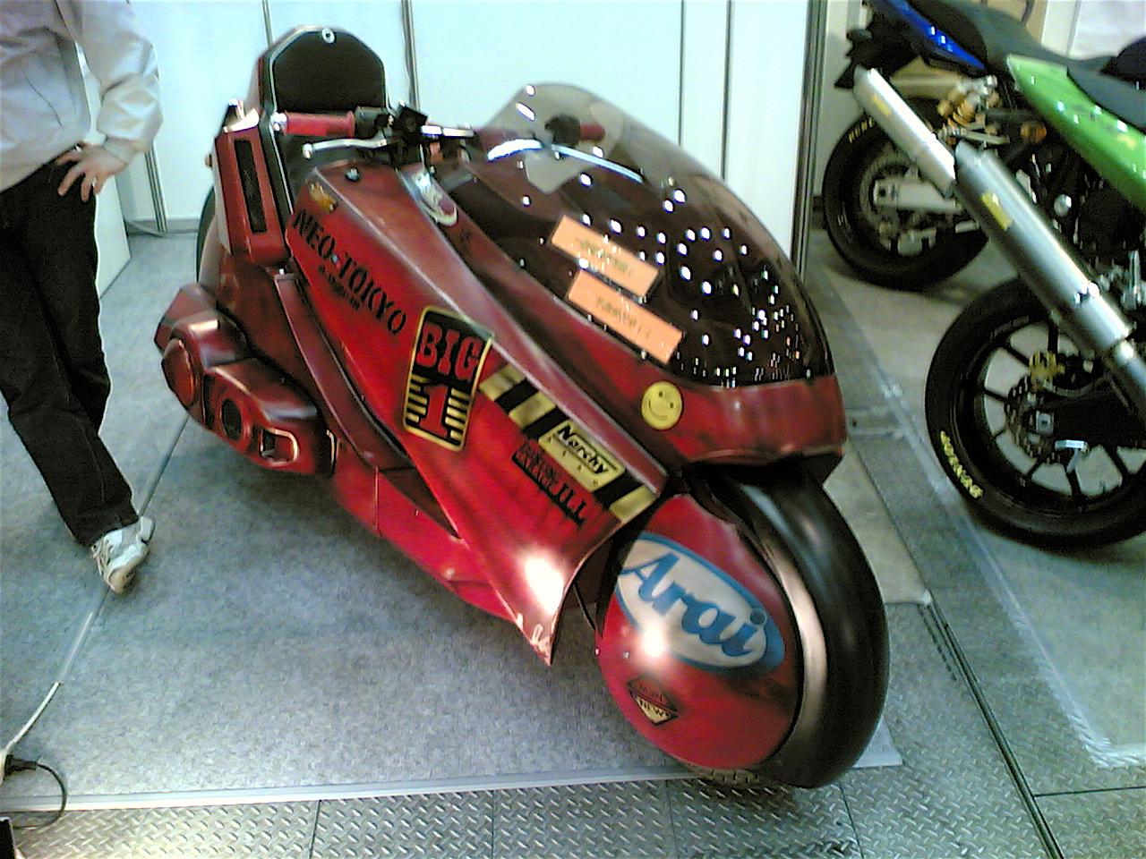 Kanedas bike from Akira