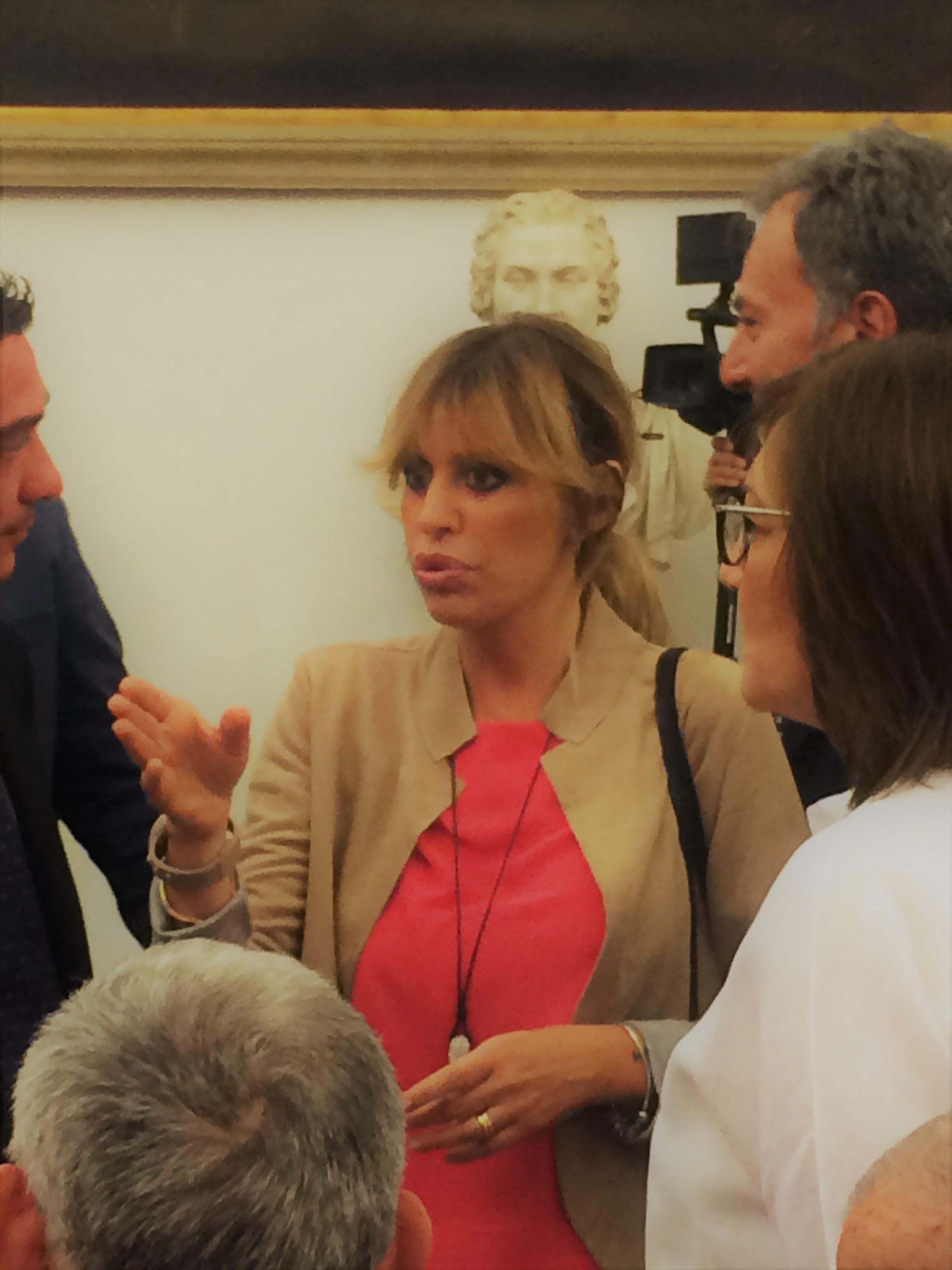 Watch Alessandra Mussolini video