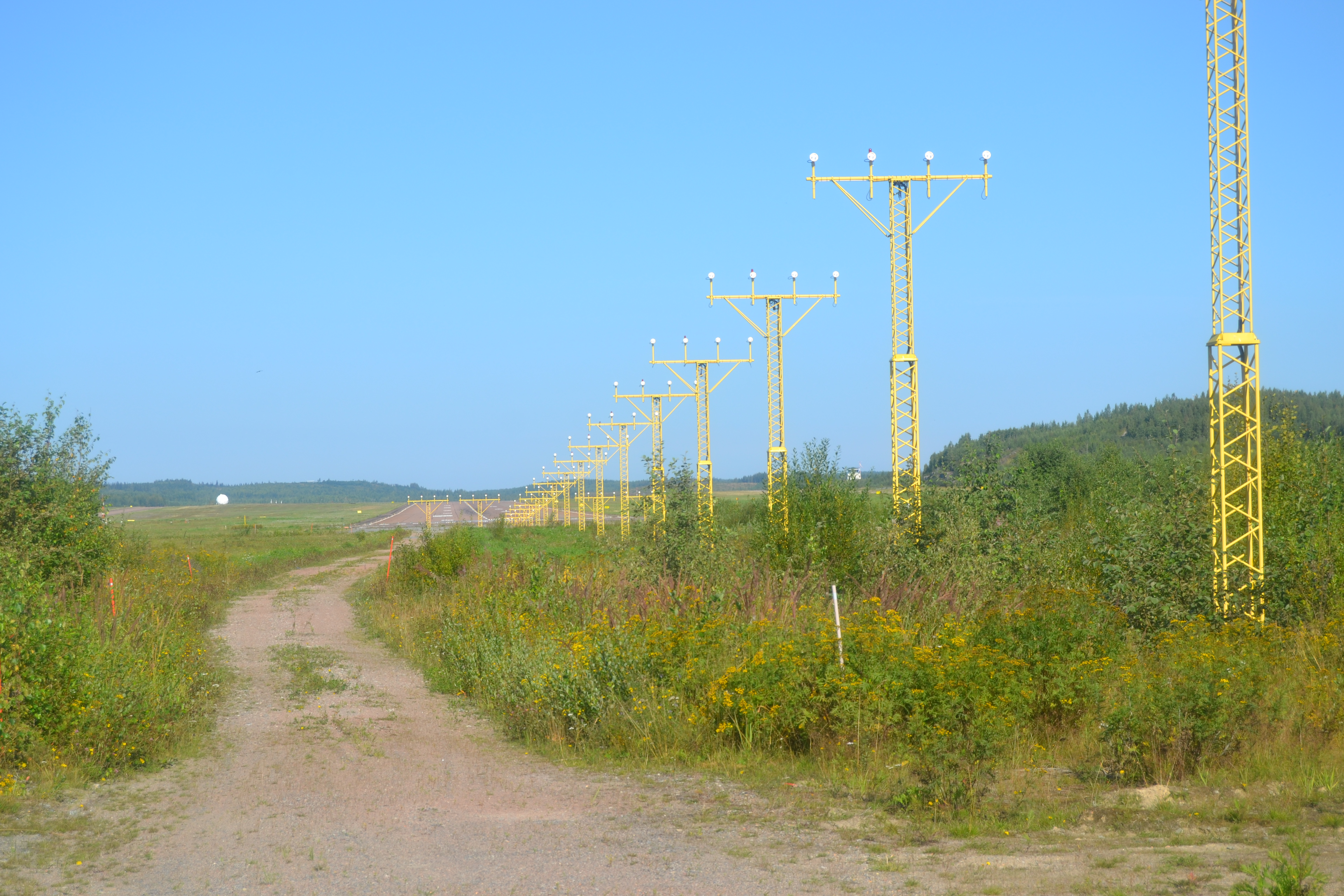 Approach lighting system - Wikipedia on