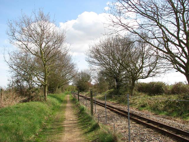 Approaching Buxton Station - geograph.org.uk - 1236516