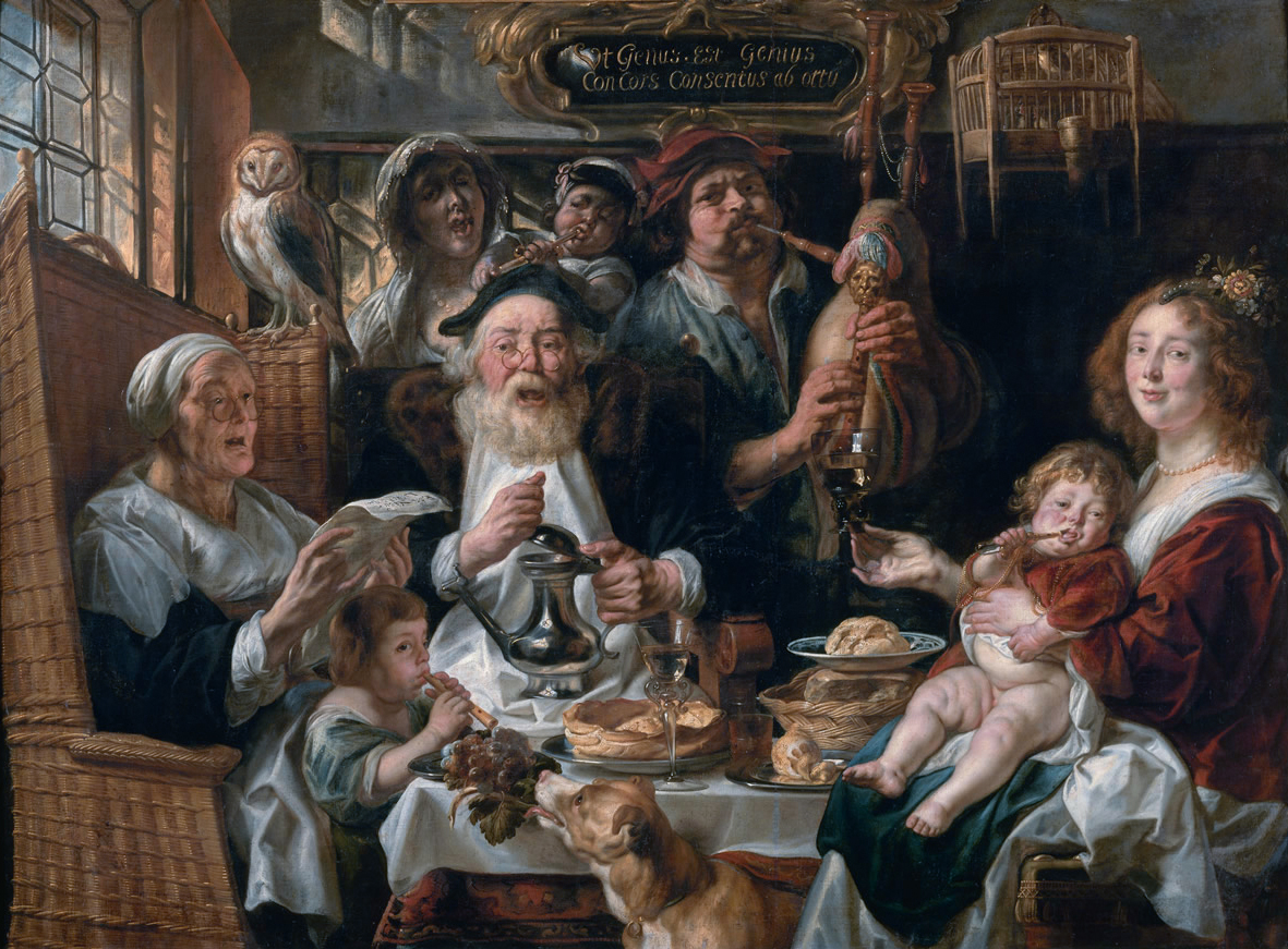 Jacob Jordaens: paintings with titles and descriptions 1