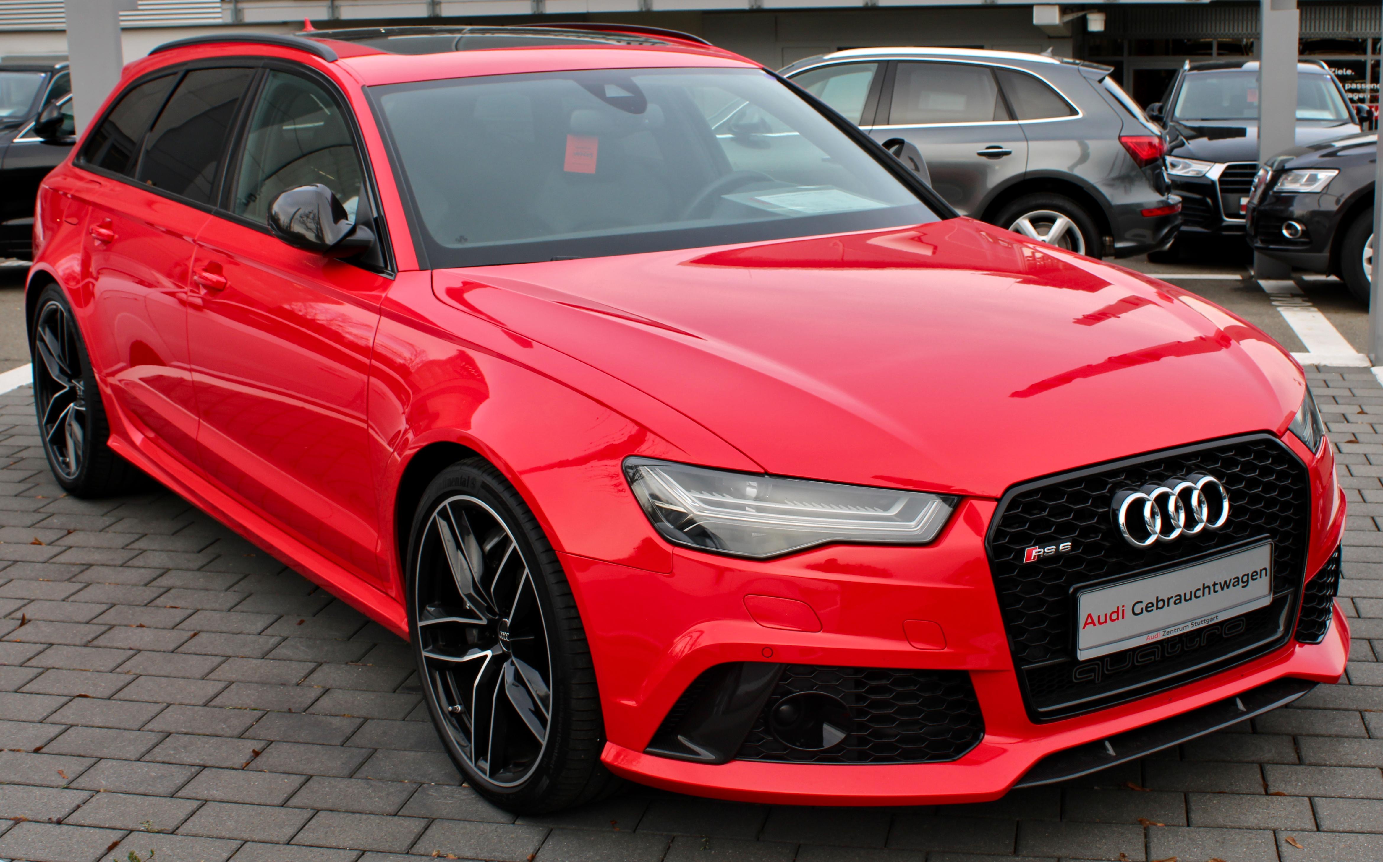 Audi Rs 6 Wikipedia
