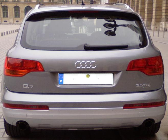 File Audi Q7 Rear Jpg Wikimedia Commons