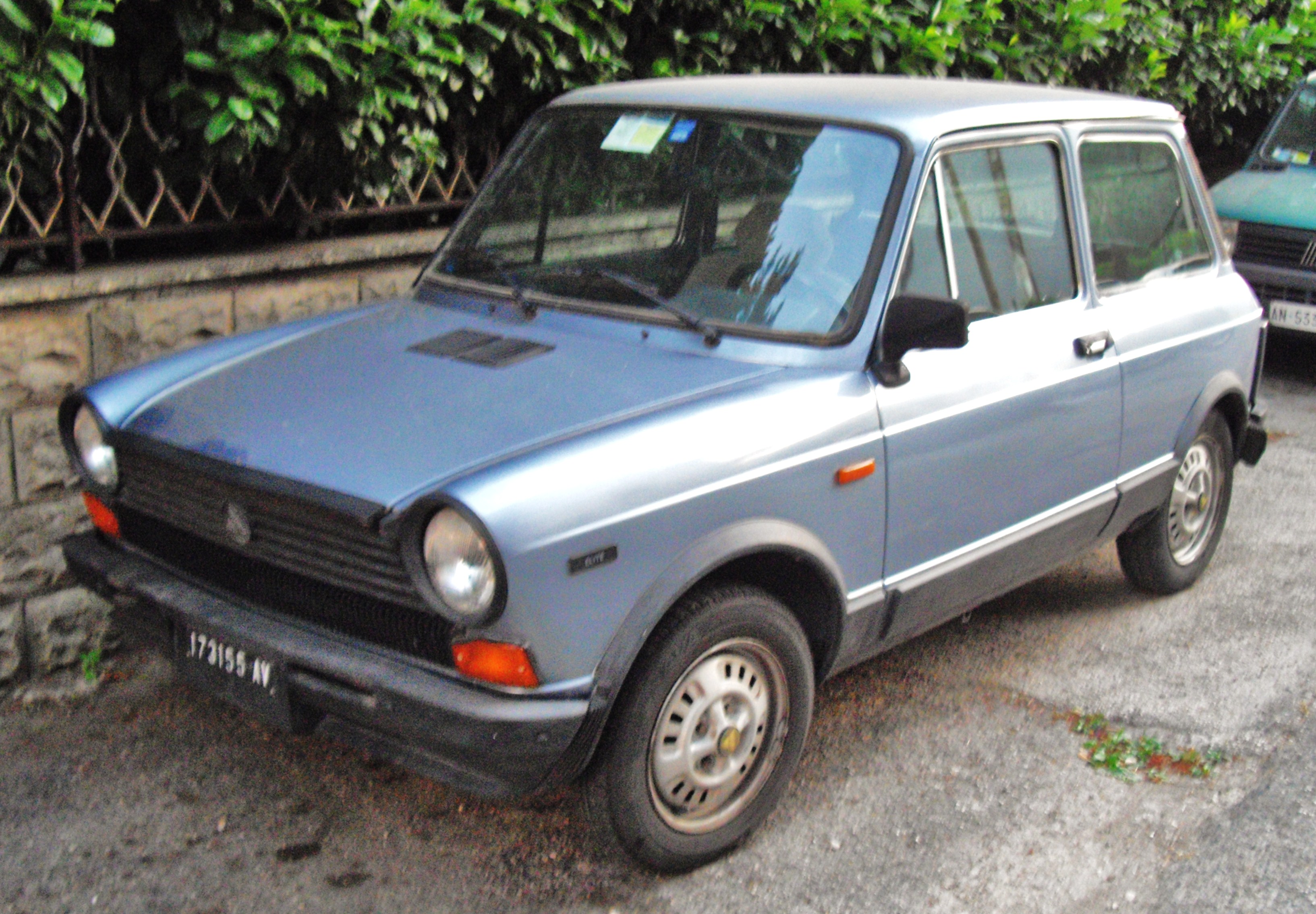 File Autobianchi A112 Elite Front Jpg Wikimedia Commons