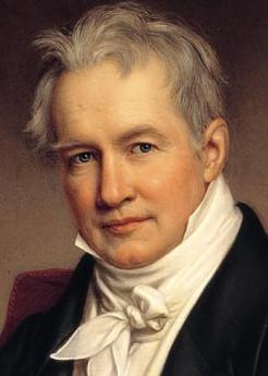 Alexander von Humboldt, (detail) by [[Joseph Karl Stieler|Joseph Stieler]], 1843