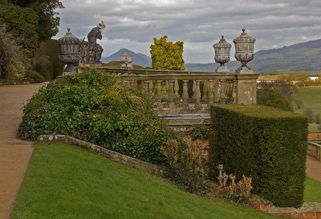 Aviary Terrace, Powis Castle (geograph 1783530)