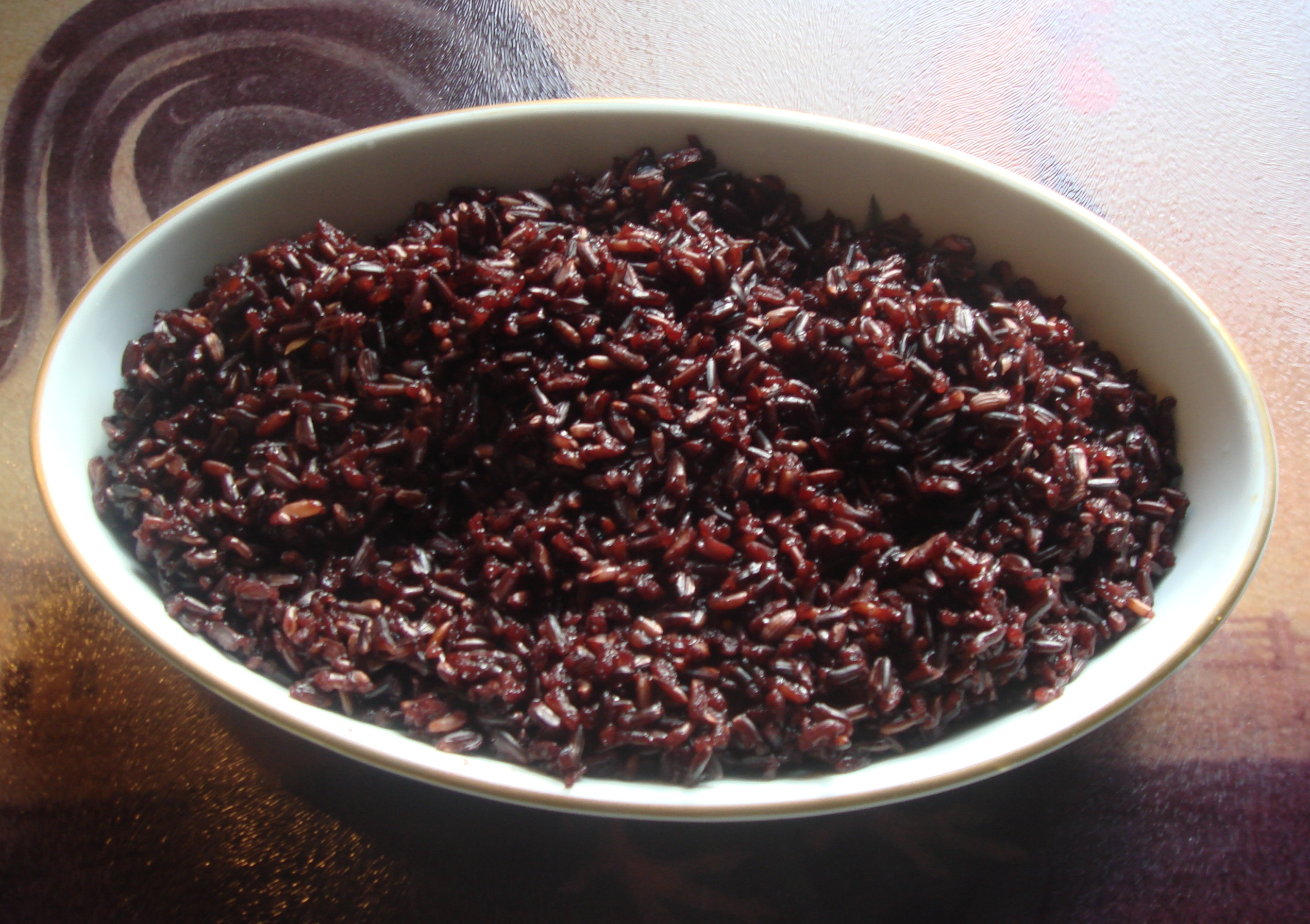 Black Rice Cake Recipe