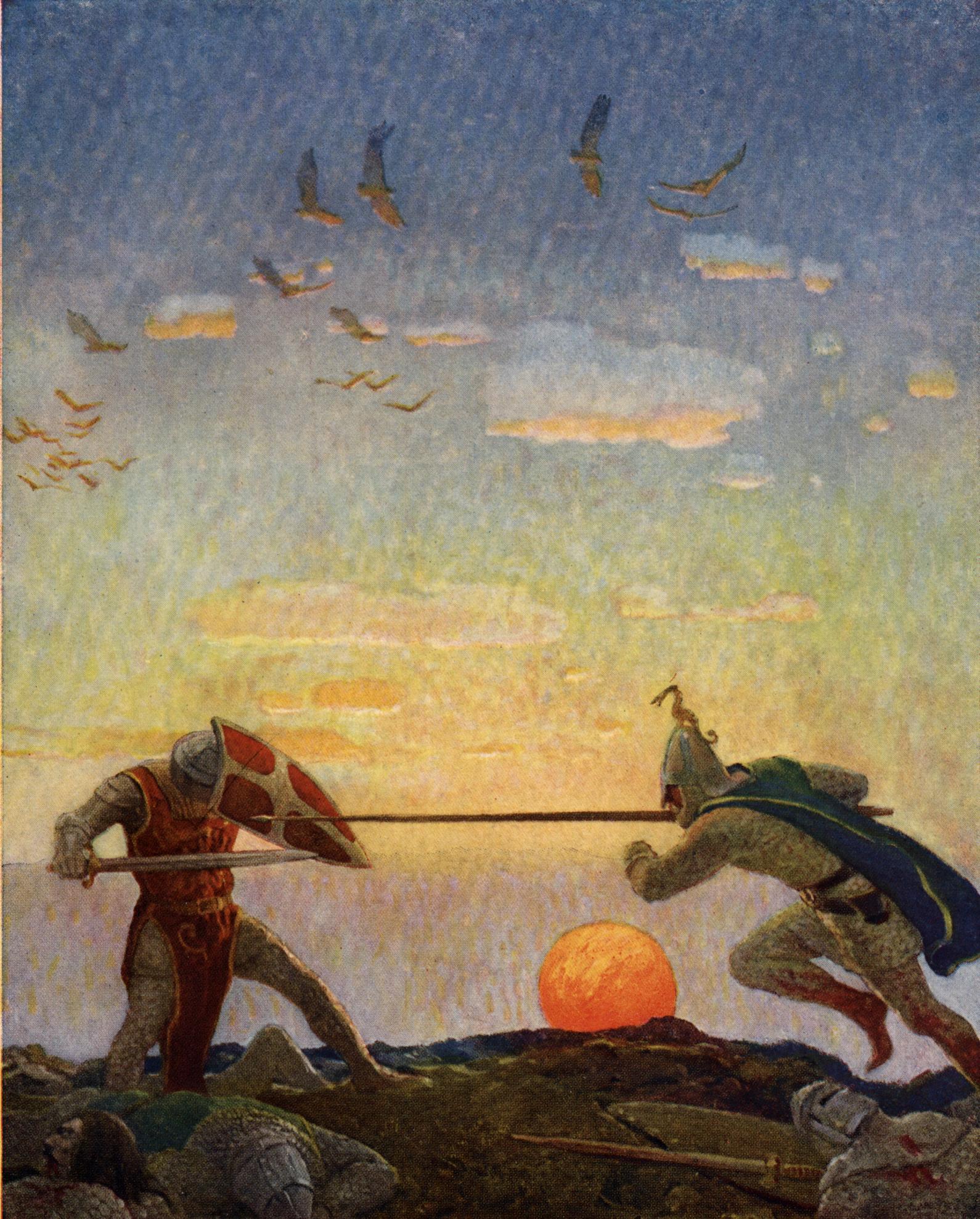 Ronde Tafel Koning Arthur.Slag Bij Camlann Wikipedia
