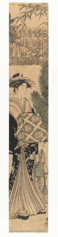 Brooklyn Museum - Courtesan and Maiko - Torii ...