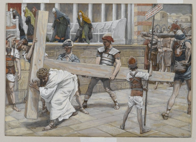 File:Brooklyn Museum - Jesus Bearing the Cross (Jésus chargé de la Croix) - James Tissot.jpg