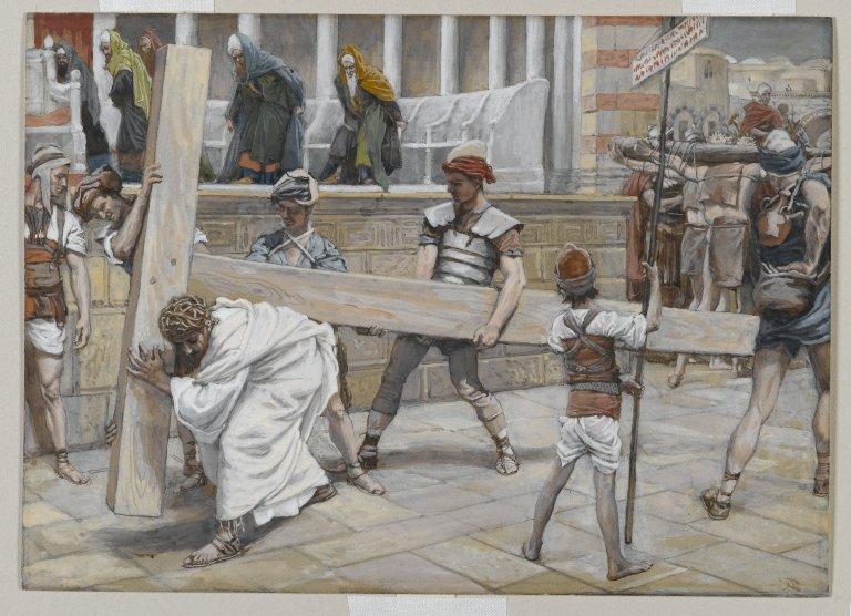 File:Brooklyn Museum - Jesus Bearing the Cross (Jésus chargé de la Croix) - James Tissot.jpg