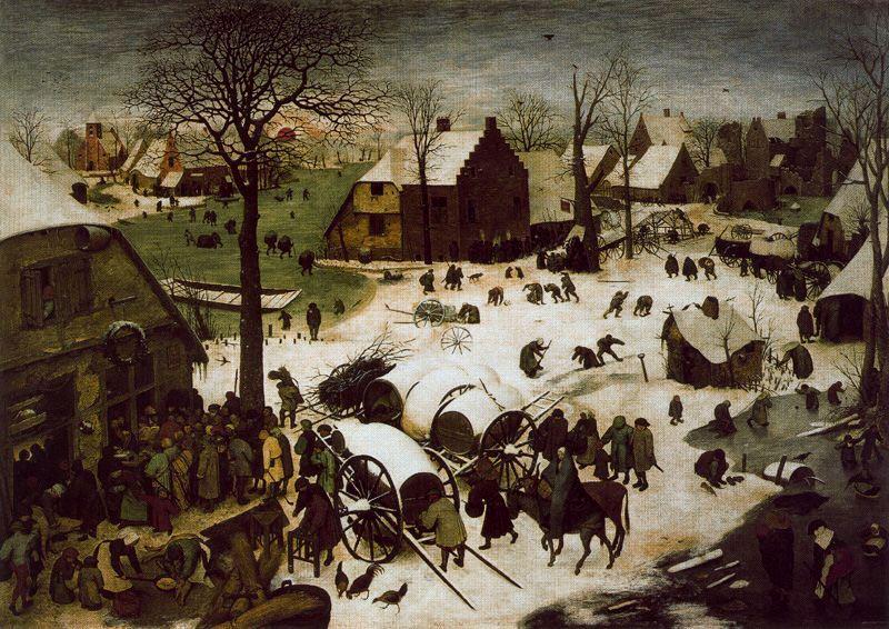 Invierno Pieter Brueghel el Viejo