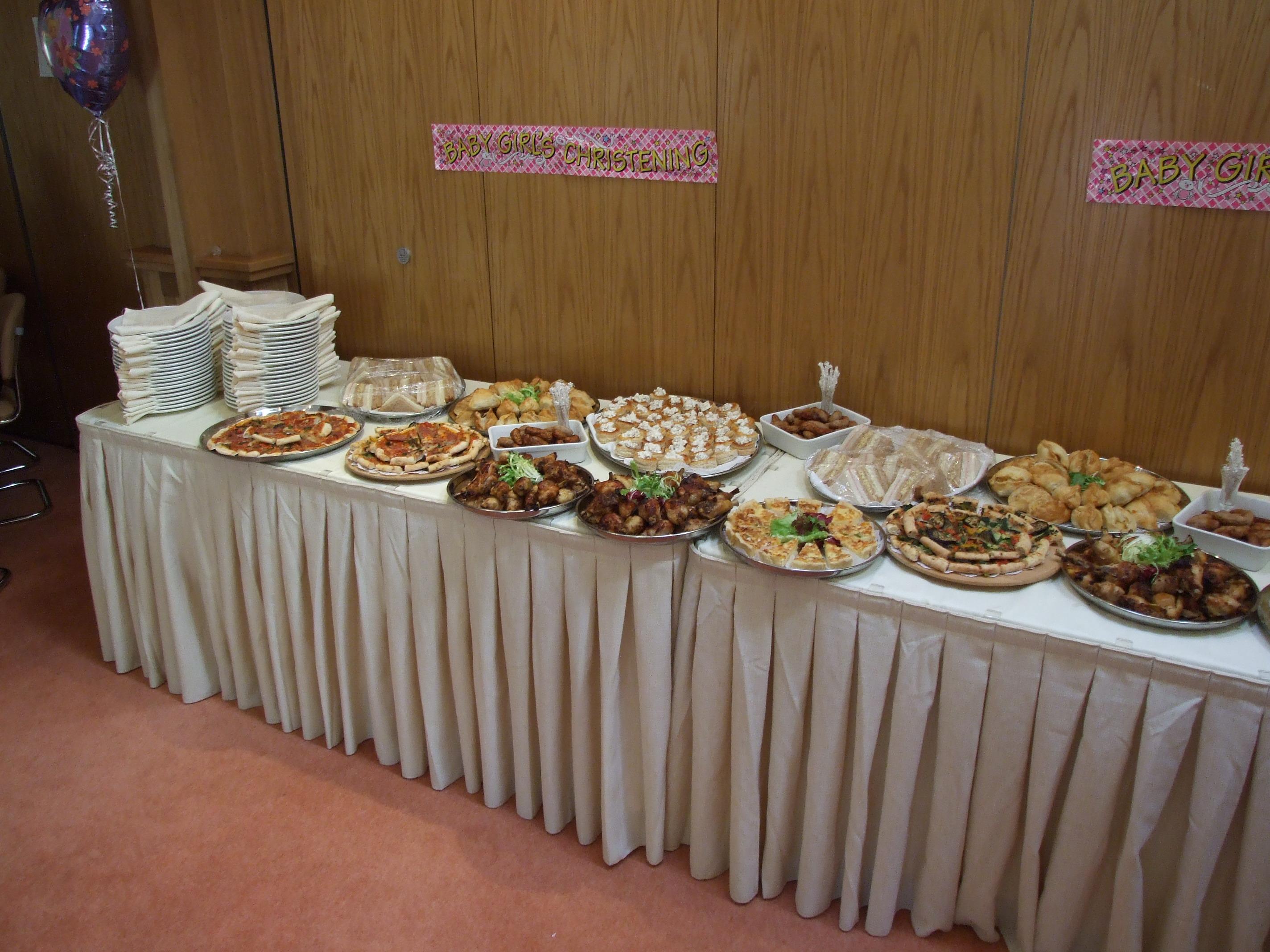 file buffet food