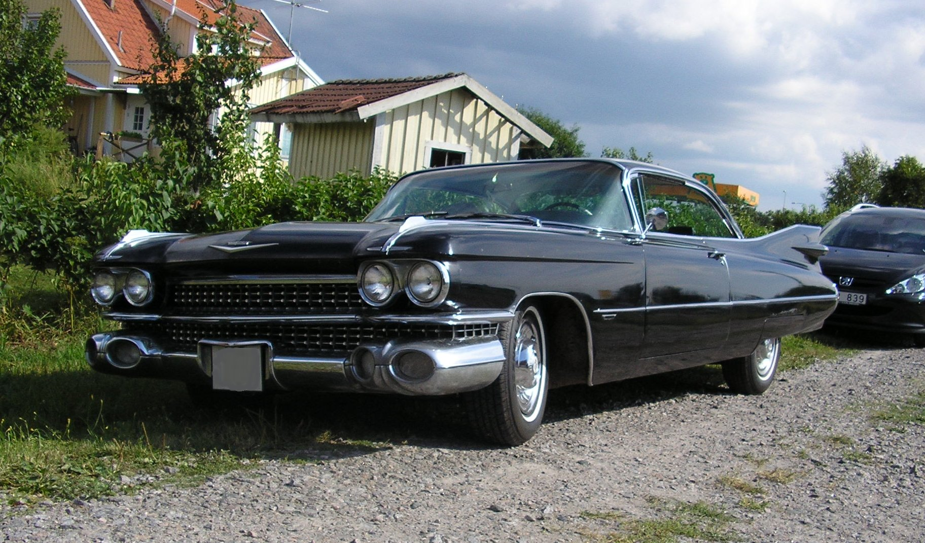 File cadillac 1959 wikimedia commons for Decoration americaine annees 50