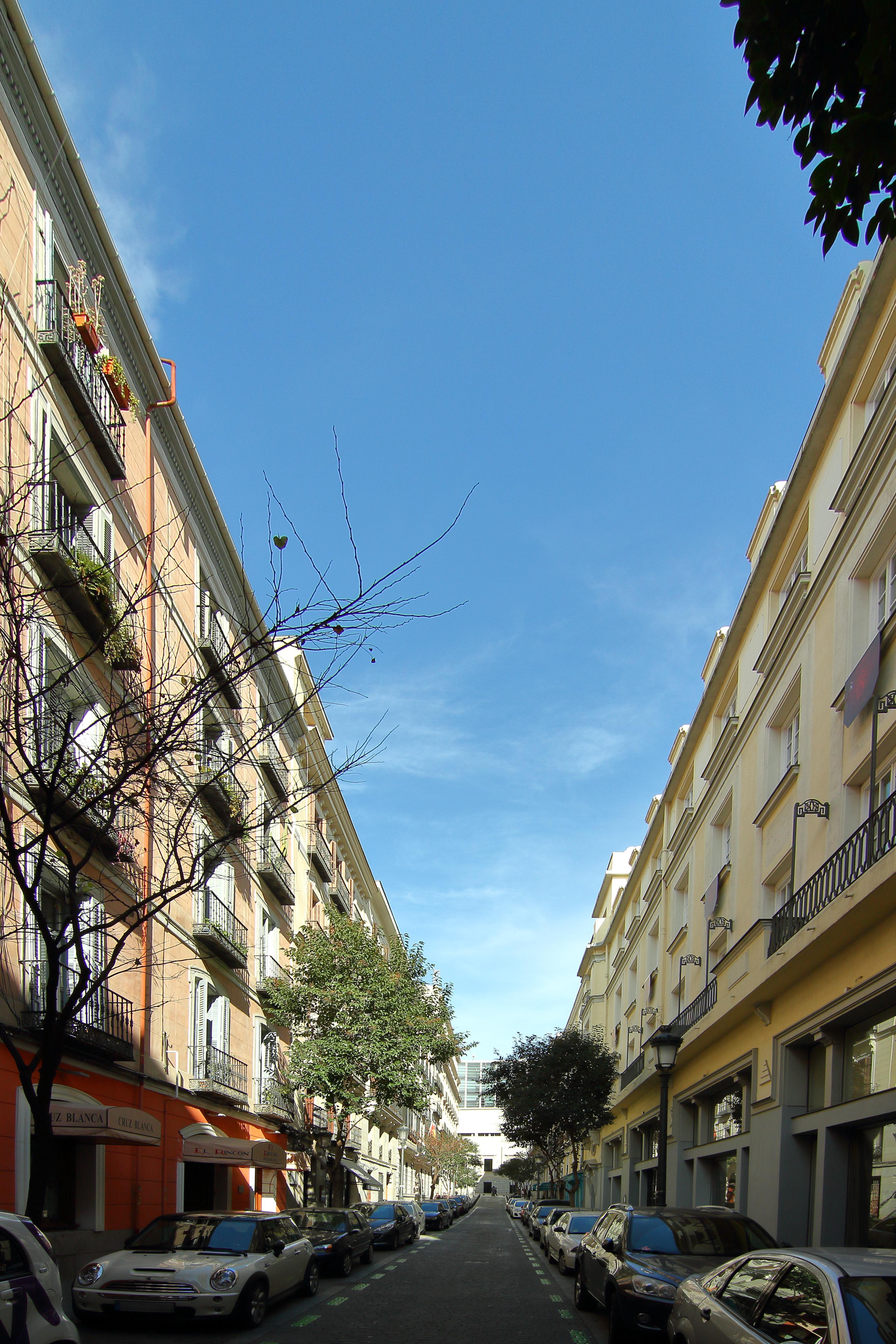 archivo calle de santa catalina desde la calle del prado
