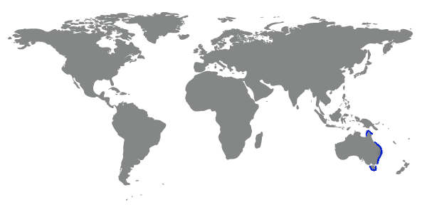 Crète sur la carte du monde