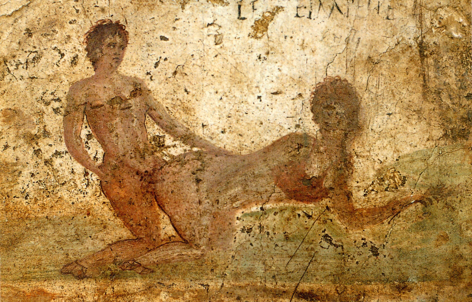 Эротика в фресках 9 фотография