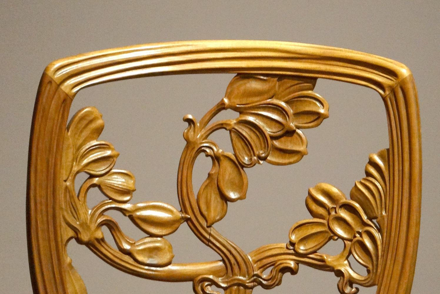 Chaise Style Art Nouveau file:chaise art nouveau (musée des arts décoratifs