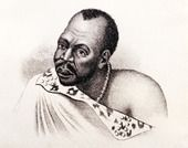 Chief Hintsa of the Gcaleka Xhosa