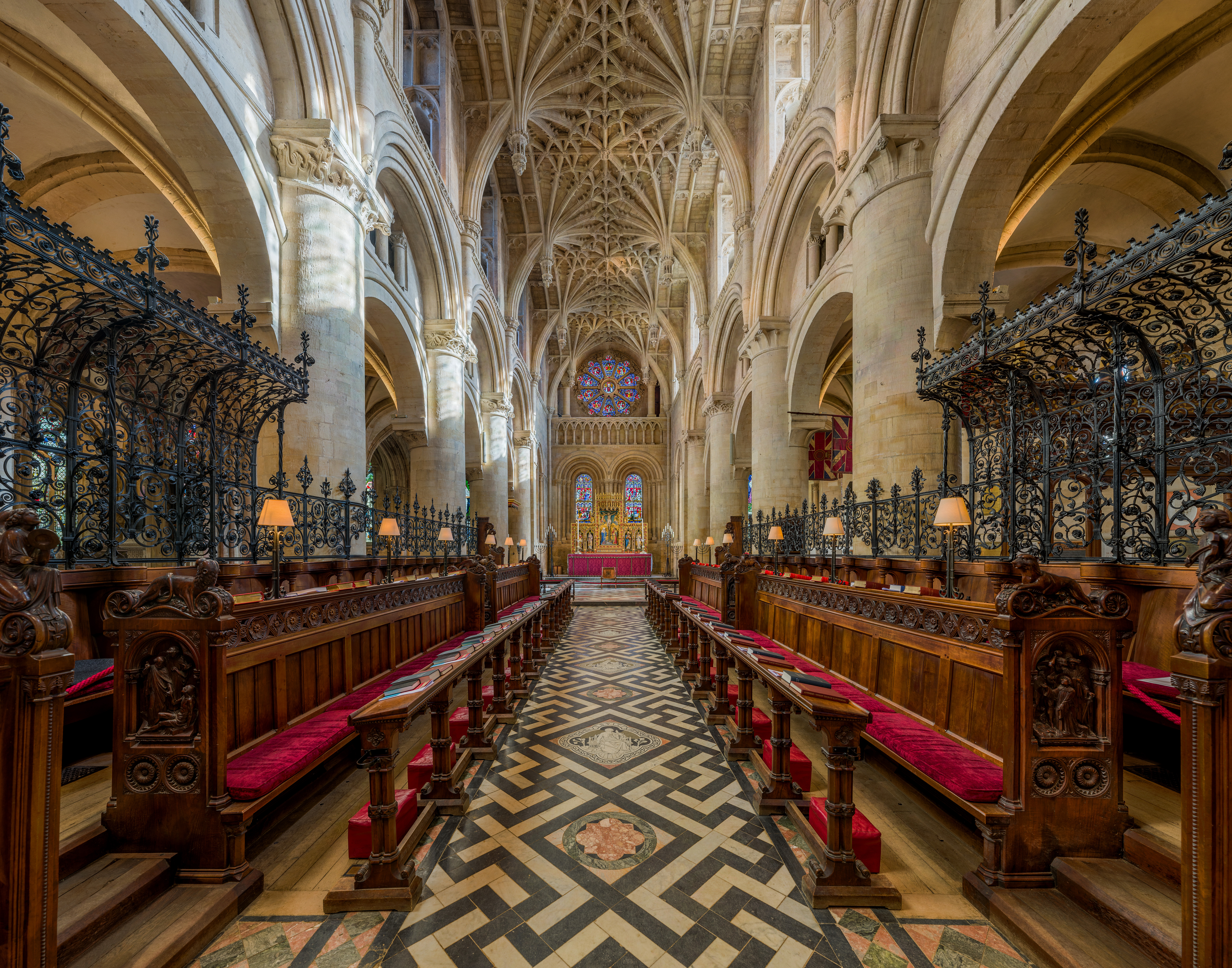 FileChrist Church Cathedral Interior 2 Oxford UK