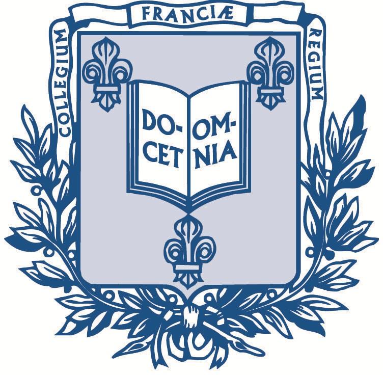 Logo of Collège de France