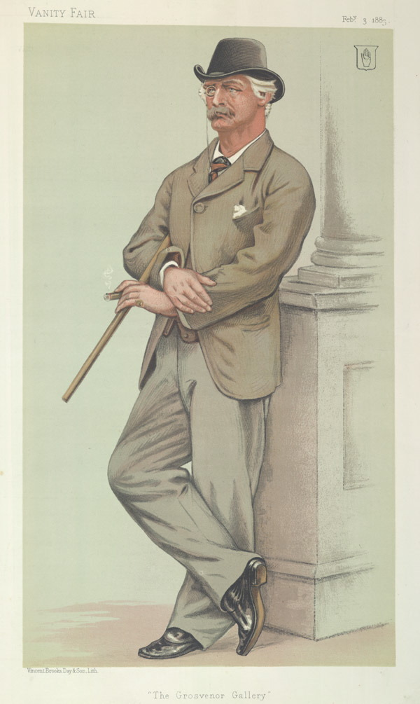 Image of Sir Coutts Lindsay from Wikidata