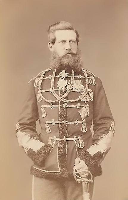 Crown Prince Frederick III 1870