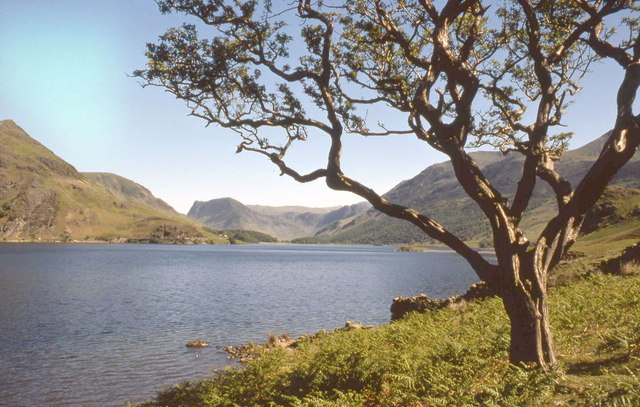 English: Crummock Water This lovely view was t...