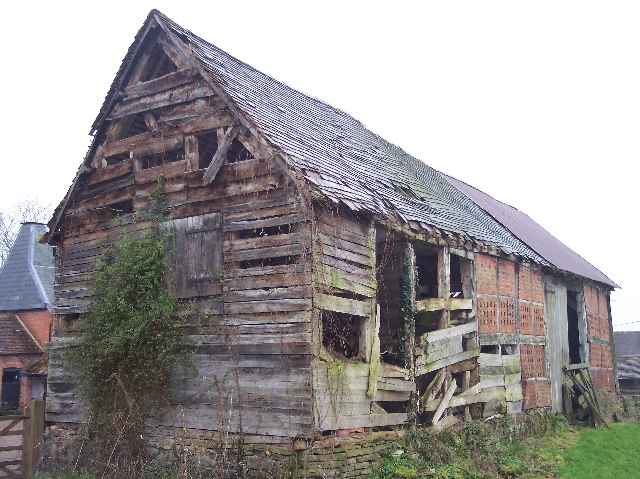 File Dilapidated Barn Mayfields Farm Geograph Org Uk