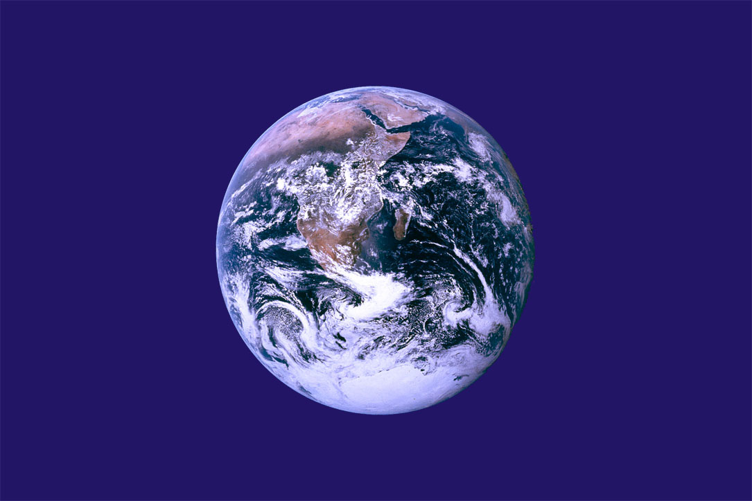 Earth Day flag from Wikipedia