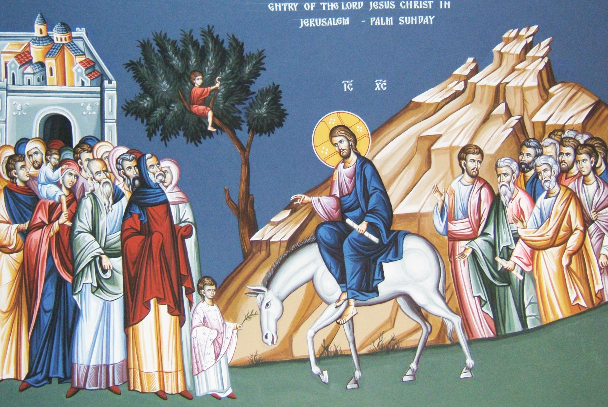 File:Entry of Jesus Christ into Jerusalem.jpg - Wikimedia Commons
