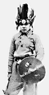 Ernesto Guevara en Alta Gracia (1937, 9 años).