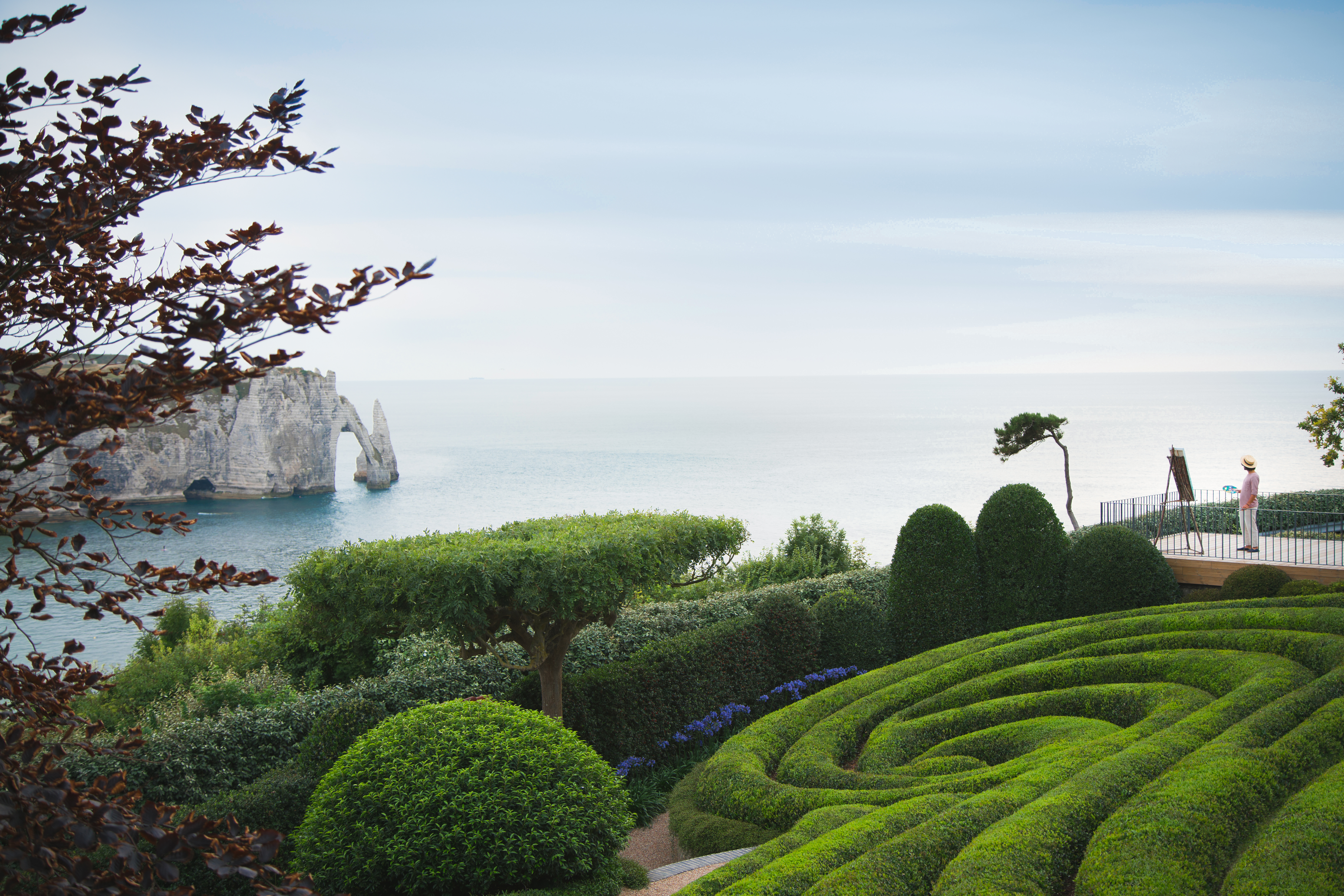 Jardin Classique À La Française les jardins d'Étretat — wikipédia