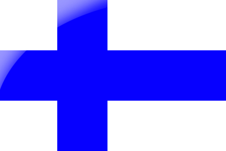 Image of the Finland national flag.