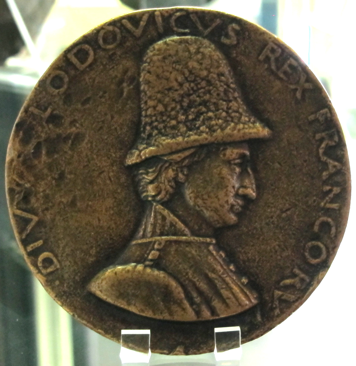 File:Francesco laurana, medaglia di luigi xi, provenza, 1465 ca.
